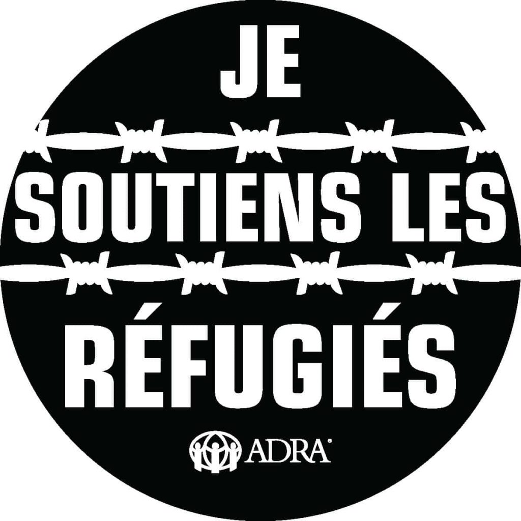 I Support Refugees-French BLK