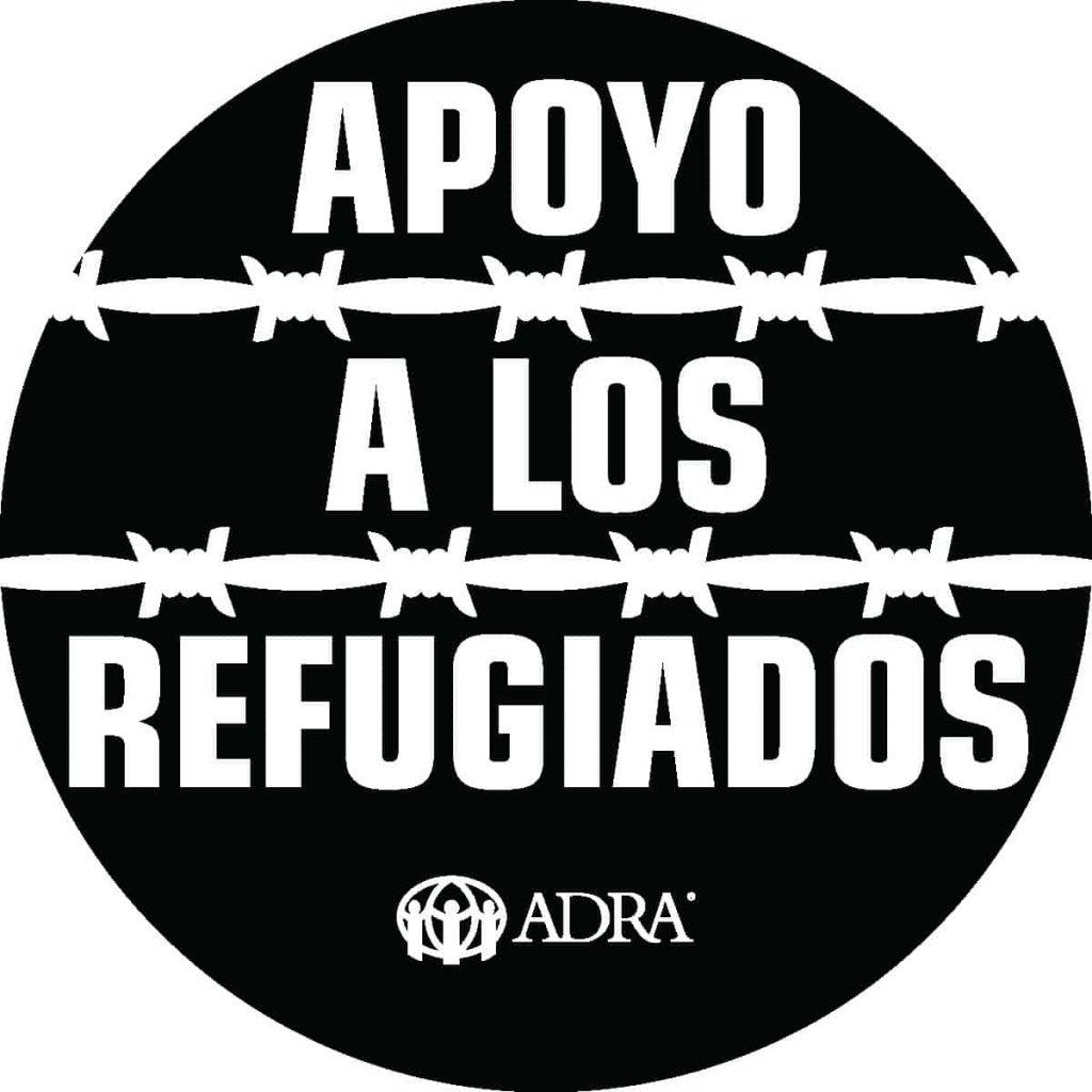 I Support Refugees-Spanish BLK