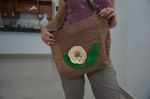 A handmade bag Magali was gifted