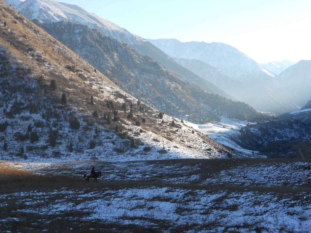 Kyrgyzstan. Area around Tokmok.